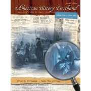 American History Firsthand: (since 1865) v. 2 by Peter J. Frederick