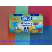 NESTLE BEBE PLAT MANZA 2X130 397778 NESTLE PLATANO Y MANZANA - (130 G 2 U )