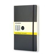 Moleskine QP617 - Cuaderno, tapa blanda,13 x 21 cm