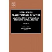 Research in Organizational Behavior: Vol. 25 by Roderick M. Kramer