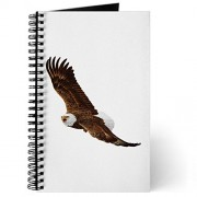 Journal (Diary) with Bald Eagle Flying on Cover