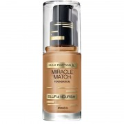 Max Factor Miracle Match Foundation Bronze 80
