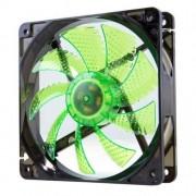 NOX NXCFAN120LG-Ventola per case PC, 120 x 120 mm, colore: verde