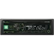 Alpine UTE-81R sintonizador de CD/DVD para el coche Radio para coche (AAC, MP3, WMA, FM, LW, MF, 87,5 108 MHz, 531 1602 kHz, LCD, Negro)