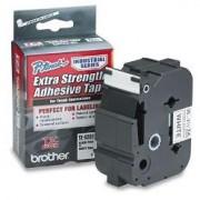 Bandă laminată/puternic adezivă Brother TZS261, 8m/36mm negru/alb