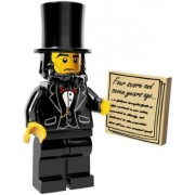 The Lego Movie Abraham Lincoln Minifigure Series 71004 by Lego [Toy] (English Manual)