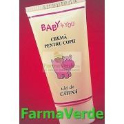 Crema cu Ulei de Catina pentru Copii Baby4You TIS Farmaceutic