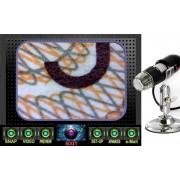 Microscope numérique USB, Zoom 200x, Résolution 640 x 480