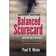 Balanced Scorecard Step-by-Step by Paul R. Niven