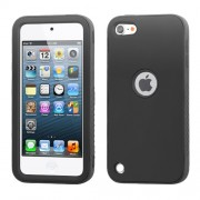 Funda Protector Mixto Apple Ipod Touch 5G Negro / Antiderrapante