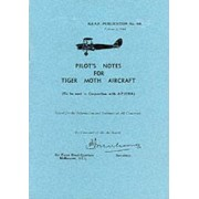 Pilot's Notes for Tiger Moth Aircraft by Royal Australian Air Force