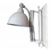 Metalen Wandlamp - Whitewash