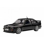BMW M3 (E30) DTM Plain Body Version Black 1/18 Diecast Car Model By Autoart 89247