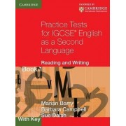 Practice Tests for IGCSE English as a Second Language: Bk. 1, with key by Marian Barry