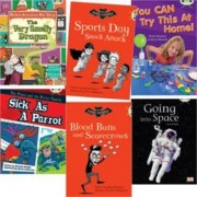 Learn to Read at Home with Bug Club: Gold Pack (Pack of 6 Reading Books with 4 Fiction and 2 Non-Fiction) by Sheila May Bird