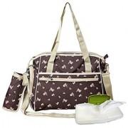 Yodo Roomy Stroller Baby Diaper Bag for Moms - Plus Wipe Dispenser Case Stroller Straps and Insulated Feeding Bottle Ho