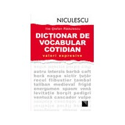 Dictionar de vocabular cotidian: valori expresive.
