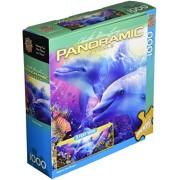 """Puzzle panoramico 1000 pezzi 13 """"X 39""""-il sogno di credere"""