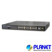 SWITCH CU 24 PORTURI POE PLANET WGSW-2620HP