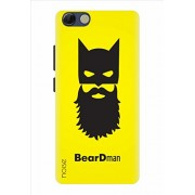 Noise Designer Printed Case / Cover for Panasonic P55 Novo / Animated Cartoons / Batman With Beard