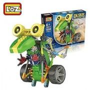 [ Motorial Dinosaur Robot ] LOZ Robotic Building Set Block Toy Battery Motor Operated 3D Puzzle Design Alien Primate Ro