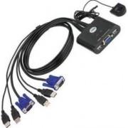 Switch KVM Aten CS22U 2-porturi USB