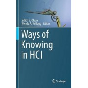 Ways of Knowing in HCI by Judith S. Olson