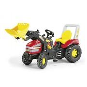 Rolly Toys 46775 - Veicolo a Pedali per Trac con Ruspa