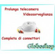 CAVO VIDEO PER TELECAMERA DI SORVEGLIANZA 10 MT