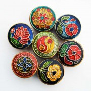 Doftljus, 7 st. i små dekorativa behållare