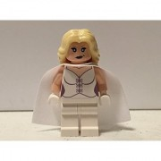 Lego Custom Printed Emma Frost Minifig Marvel X-Men Mutant White Queen