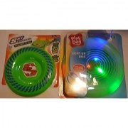 Outdoor Fun Ultimate Pack (Green Sky Bouncer & Green Play Day Light-up Disc)