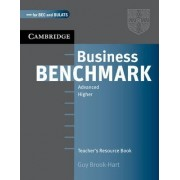 Business Benchmark Advanced Teacher's Resource Book by Guy Brook-Hart
