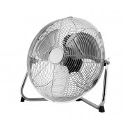 FK Technics 4738670 - Ventilator de podea 35 cm, 3 viteze, crom, 70W