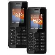 Nokia 108 Dual Sim Handy mit 1,8 LCD Display und Kamera, 2 SIM Karten parallel nutzbar