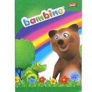 Тетрадка с цветни тесни редове, Bambino, St. Majewski, 5903235001796