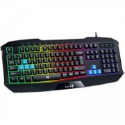 Геймърска клавиатура GENIUS K215 Scorpion, Черна, 31310474100