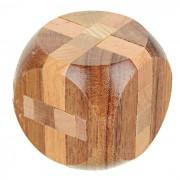 Dados de madera Rompecabezas de bloqueo con rompecabezas de juguetes educativos - Madera Color