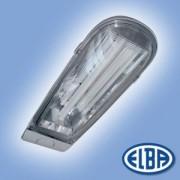 Utcai lámpatest DELFIN 01 1x24W kompakt fénycsővel, olvadóbiztosítékkal IP65 Elba
