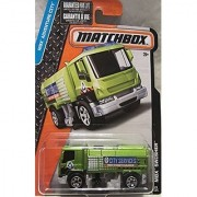 Matchbox 2016 MBX Adventure City MBX Swisher Street Cleaner [Neon Green] 28/125