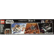 Lego Star Wars Super Pack 3 in 1 (66533) - Microfighters 75074 75077 75073