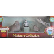 Nature's Way Miniature Collection WATER LOVING ANIMALS w WALRUS SEA LION PENGUIN & ORCA WHALE Collectible ANIMALS From AROUND The WORLD (From Canada)