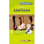 Camino de Santiago Zoom Map 160 2015