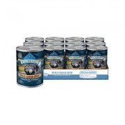 Blue Buffalo Wilderness Wolf Creek Stew Chunky Chicken Stew Canned Dog Food, 12.5-oz, 12 ct