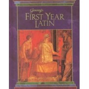 Jenney's First Year Latin Gr 8-12 Textbook 1990c by Charles Jenney