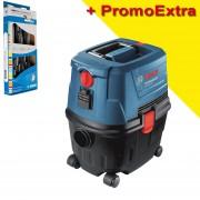 BOSCH GAS 15 PS Aspirator universal 1100 W + Set 5 surubelnite CR UNIOR