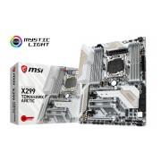 Placa de baza MSI X299 TOMAHAWK ARCTIC, LGA2066, 8xDDR4, 2xM.2, 8xSATA3, 3xUSB3.1 Gen2