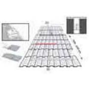 Ariston Felszerelõ keret 1 kollektorhoz lapos tetõre SYS 2.5