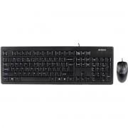 Kit tastatura si mouse A4Tech KRS-8372 PS2 black