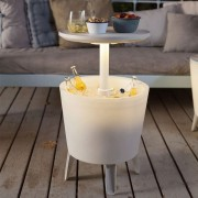 Keter 30 Litre Illuminated Coolbar Multi Purpose Outdoor Patio Party P